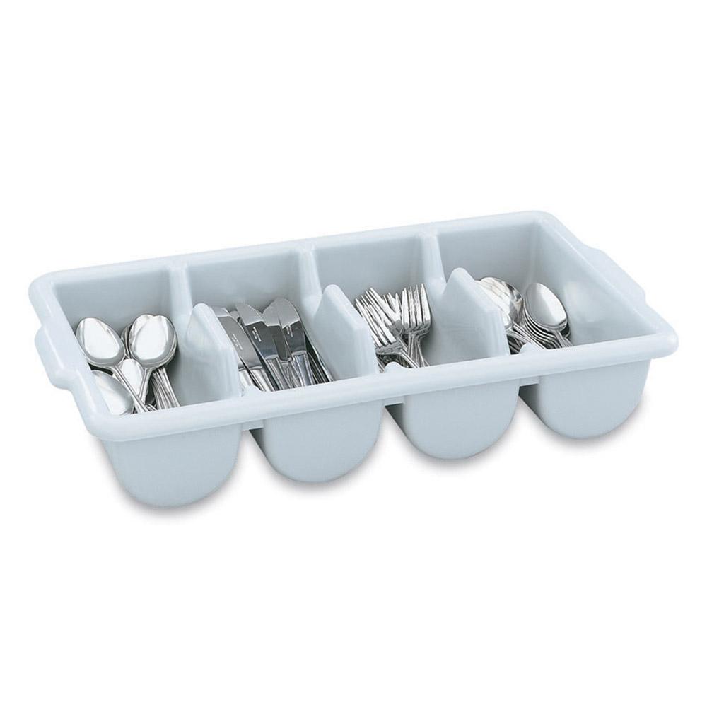 Vollrath 52651 Cutlery Dispenser - 4-Compartment, Gray