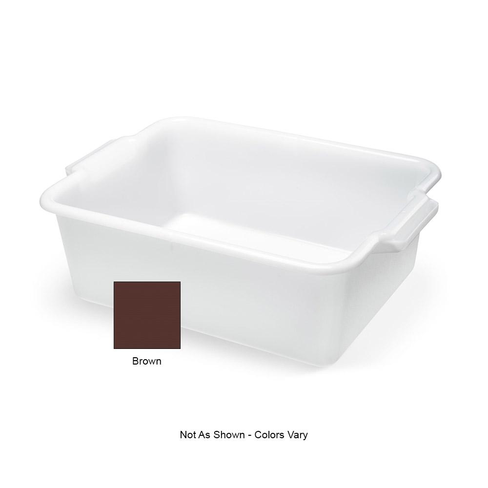 "Vollrath 52662 Heavy-Duty Bus Box - 20x15x7"" Brown"