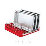Vollrath 52665 Open-End Dishwasher Rack Insert - Chrome