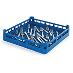 "Vollrath 52671 Dishwasher Flatware Rack - Full-Size, 19-3/4x19-3/4"" Royal Blue"