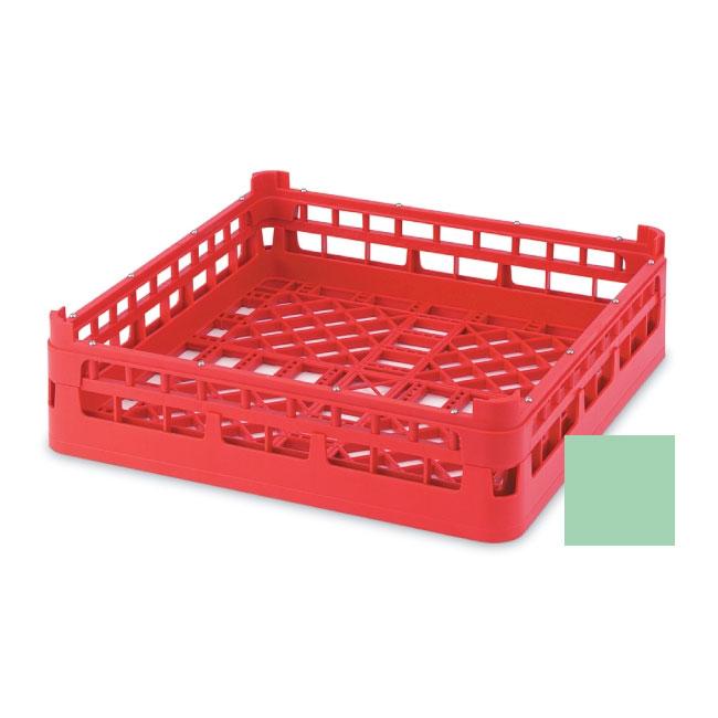 """Vollrath 52682 1 Open Dishwasher Rack - X-Tall, Full-Size, 19-3/4x19-3/4"""" Green"""