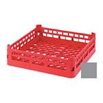 "Vollrath 52682 6 Open Dishwasher Rack - X-Tall, Full-Size, 19-3/4x19-3/4"" Gray"