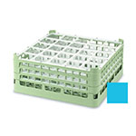 """Vollrath 52684 4 Dishwasher Rack - 25-Compartment, Short, Full-Size, 19-3/4x19-3/4"""" Blue"""