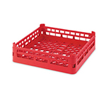 "Vollrath 52689 2 Dishwasher Rack - 36-Compartment, Short, Full-Size, 19-3/4x19-3/4"" Cocoa"