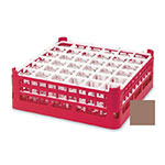"""Vollrath 52689 2 Dishwasher Rack - 36-Compartment, Short, Full-Size, 19-3/4x19-3/4"""" Cocoa"""