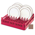 """Vollrath 52695 2 Open Dishwasher Rack - Extended Height, Full-Size, 19-3/4x19-3/4"""" Cocoa"""