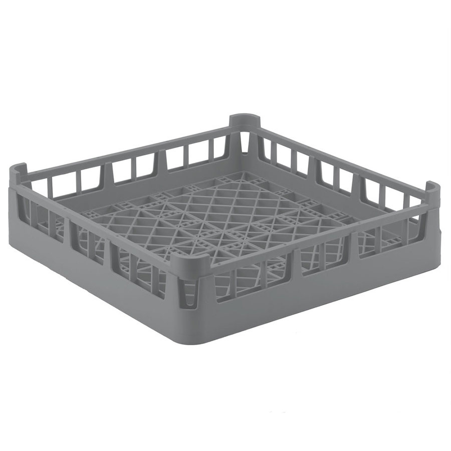 "Vollrath 5269660 Dishwasher Flatware Rack - Full Size, 19.75"" x 19.75"" x 4.88"", Gray"