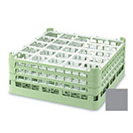 "Vollrath 52710 6 Dishwasher Rack - 20-Compartment, Medium, Full-Size, 19-3/4x19-3/4"" Gray"