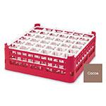 "Vollrath 52714 2 Dishwasher Rack - 36-Compartment, Medium, Full-Size, 19-3/4x19-3/4"" Cocoa"