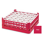"Vollrath 52714 3 Dishwasher Rack - 36-Compartment, Medium, Full-Size, 19-3/4x19-3/4"" Red"