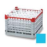 "Vollrath 52720 4 Dishwasher Rack - 16-Compartment, X-Tall, Full-Size, 19-3/4x19-3/4"" Blue"