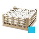 "Vollrath 52721 4 Dishwasher Rack - 16-Compartment, XX-Tall, Full-Size, 19-3/4x19-3/4"" Blue"