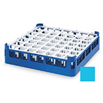 "Vollrath 52722 4 Dishwasher Rack - 49-Compartment, Medium, Full-Size, 19-3/4x19-3/4"" Blue"