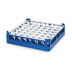 "Vollrath 52724 7 Dishwasher Rack - 49-Compartment, X-Tall, Full-Size, 19-3/4x19-3/4"" Royal Blue"