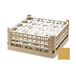 "Vollrath 52725 5 Dishwasher Rack - 49-Compartment, XX-Tall, Full-Size, 19-3/4x19-3/4"" Gold"