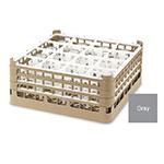 "Vollrath 52767 6 Dishwasher Rack - 16-Compartment, Medium Plus, Full-Size, 19-3/4x19-3/4"" Gray"