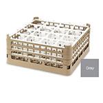 "Vollrath 52779 6 Dishwasher Rack - 36-Compartment, Medium Plus, Full-Size, 19-3/4x19-3/4"" Gray"