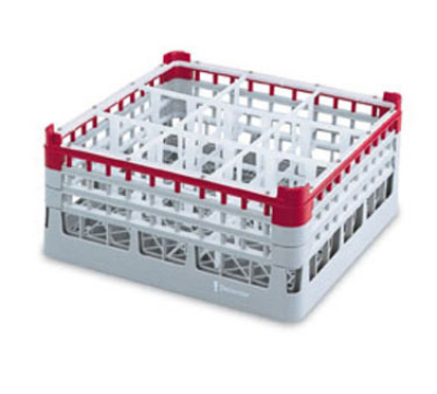 Vollrath 52797 25 Compartment Rack Martini 4X-Tall Full Size Gray Restaurant Supply