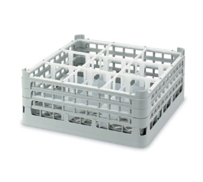 Vollrath 52956 16 Compartment Rack Martini Tall Full Size Blue Restaurant Supply