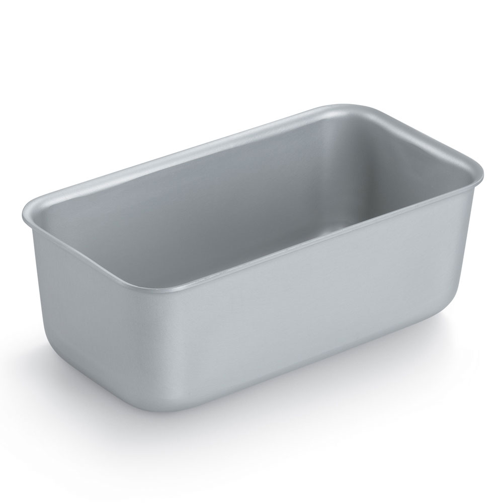 "Vollrath 5433 3-lb Loaf Pan - 4-1/4x8-1/2x3-1/8"" Aluminum"