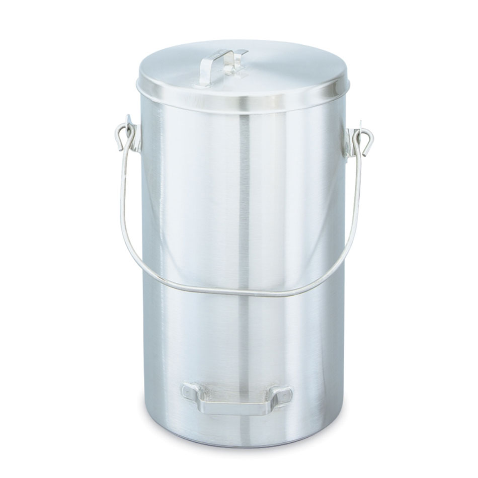Vollrath 59200 19-3/4-qt Pail with Cover - Welded Side Handle, Stainless
