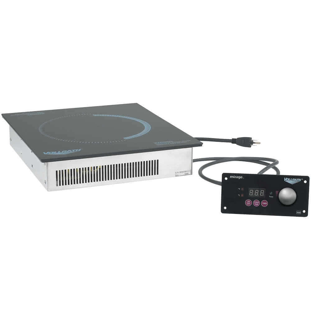 Vollrath 5960845 Drop-In Commercial Induction Cooktop Kit w/ (1) Burner, 120v