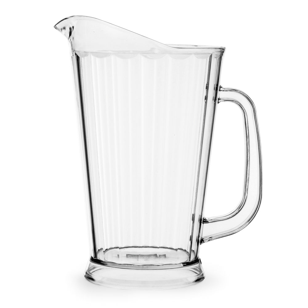 Vollrath 6000-13 60-oz Deluxe Beverage Pitcher - Clear Poly
