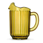 Vollrath 6010-16 60-oz Three-Lipped Pitcher - Amber Poly