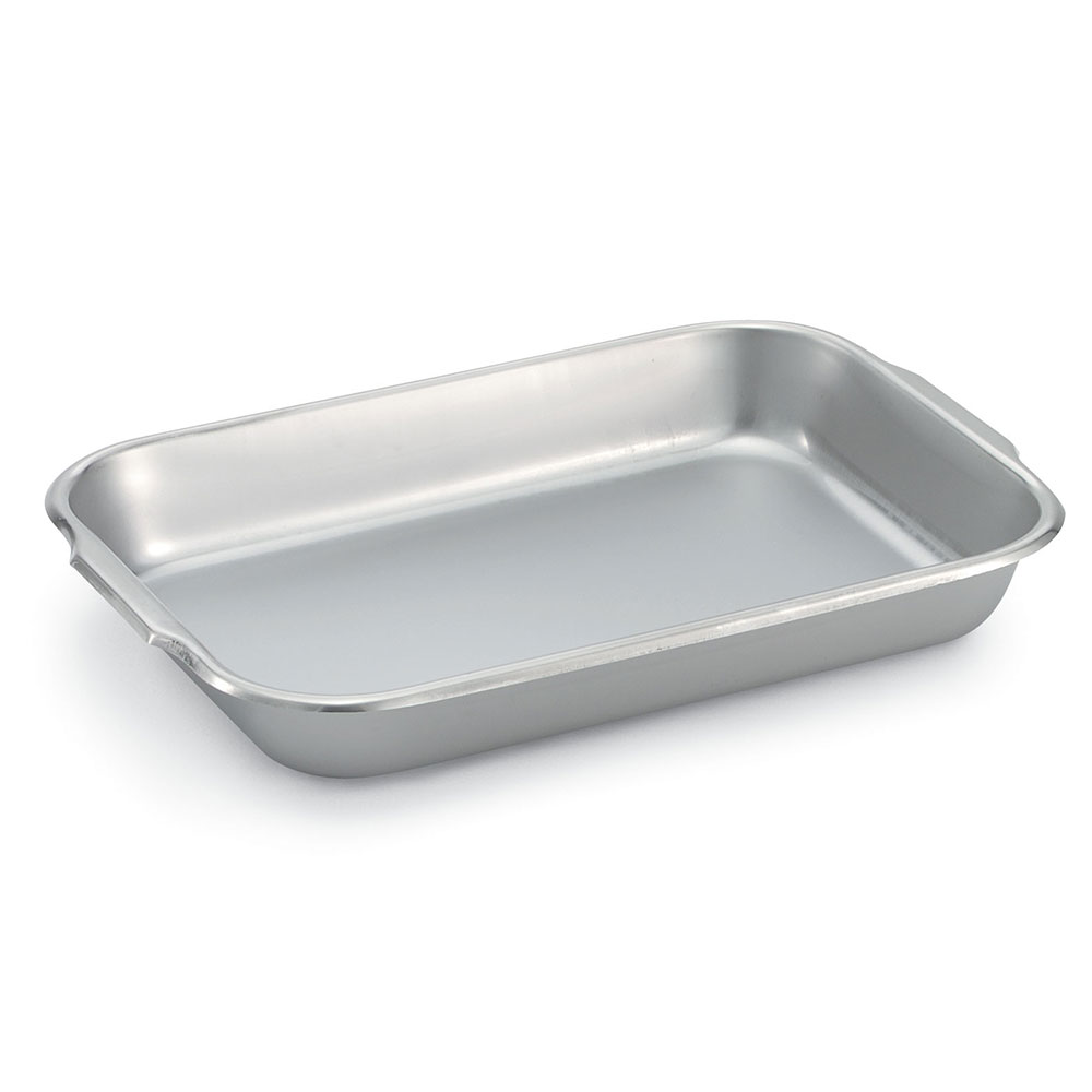 "Vollrath 61230 Baking/Roasting Pan - 14-7/8x10-1/4x2"" 22-ga Stainless"