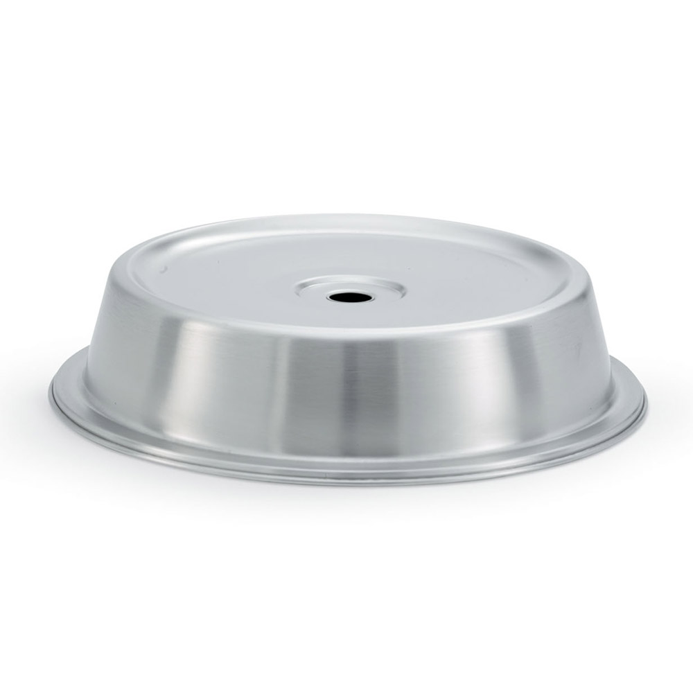 "Vollrath 62312 Plate Cover for 10-9/16""- 10-5/8"" Satin-Finish Stainless"