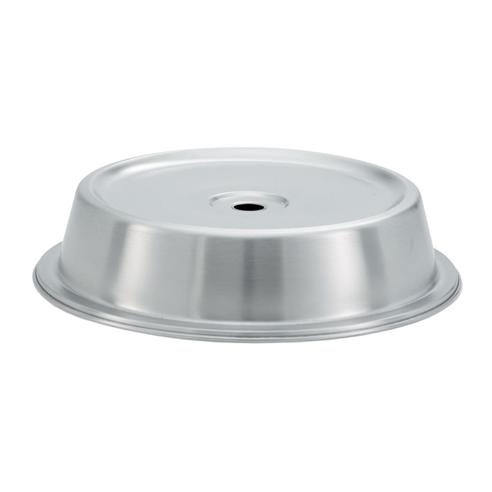 "Vollrath 62315 Plate Cover for 10-15/16""- 11"" Satin-Finish Stainless"