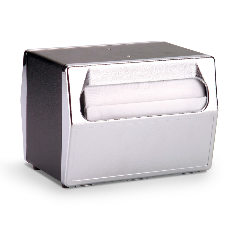 Vollrath 6516-06 Table-Type Napkin Dispenser - 2-Sided, Black