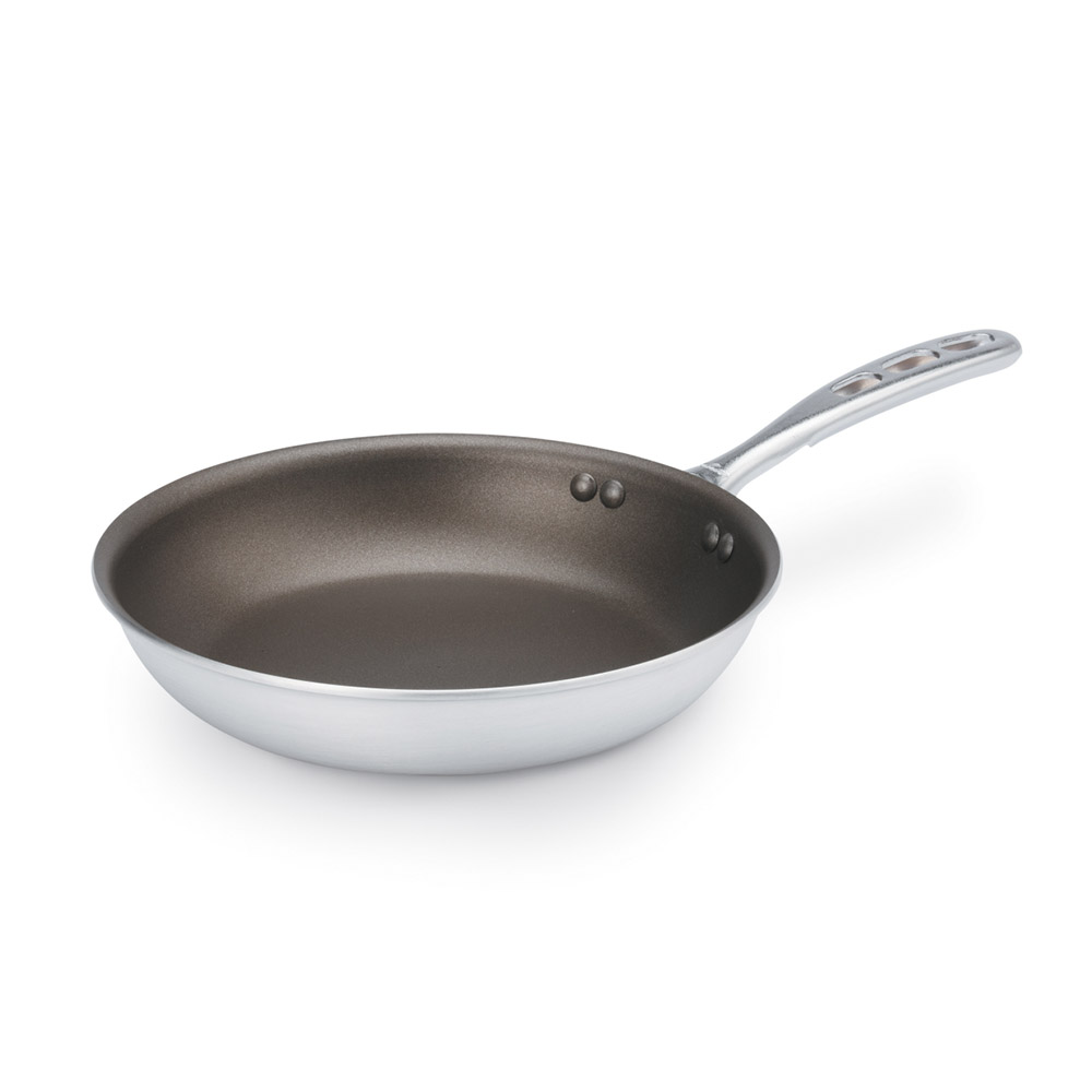 "Vollrath 67012 12"" Non-Stick Aluminum Frying Pan w/ Vented Metal Handle"