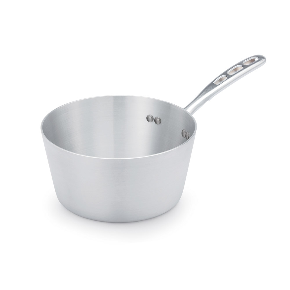Vollrath 67304 4.5-qt Aluminum Saucepan w/ Vented Metal Handle