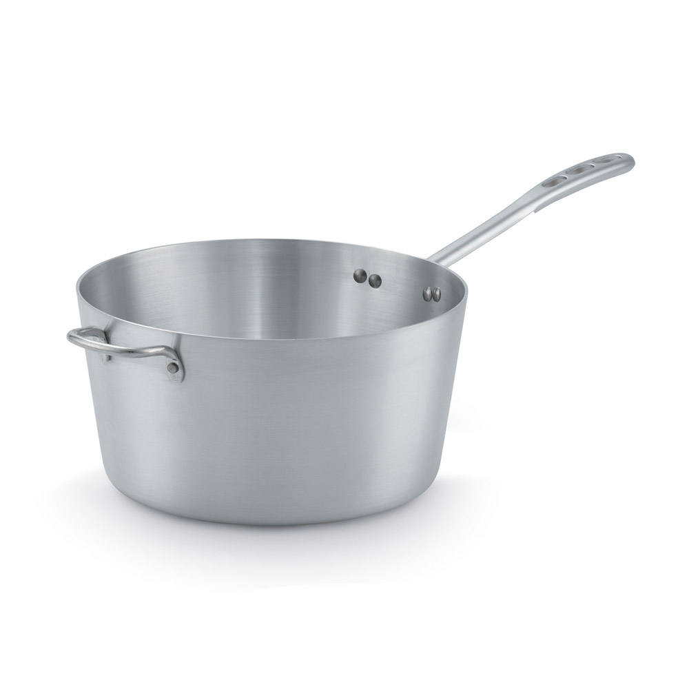 Vollrath 67308 8-qt Aluminum Saucepan w/ Vented Metal Handle