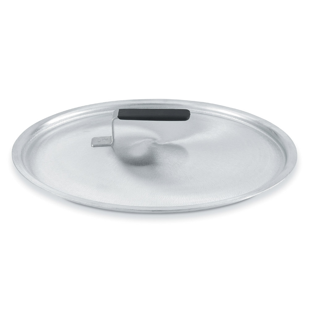 "Vollrath 67409 10.75"" Domed Stock Cover, Aluminum"