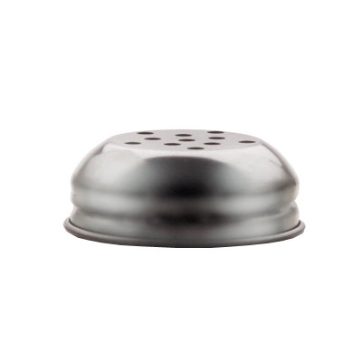 Vollrath 674T 6-oz Cheese Shaker Cap - Round, Perforated, Stainless