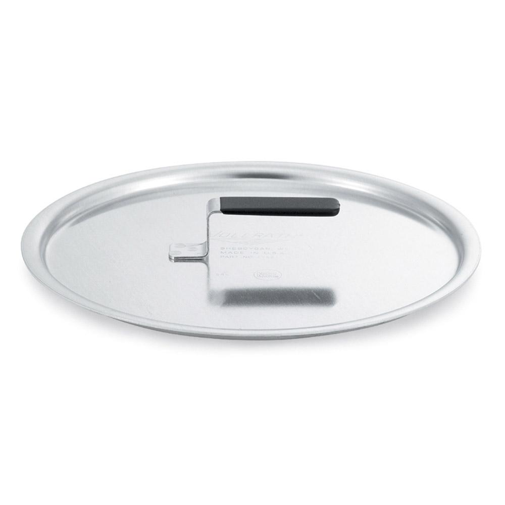 """Vollrath 67561 16.87"""" Flat Stock Pot Cover, Aluminum"""