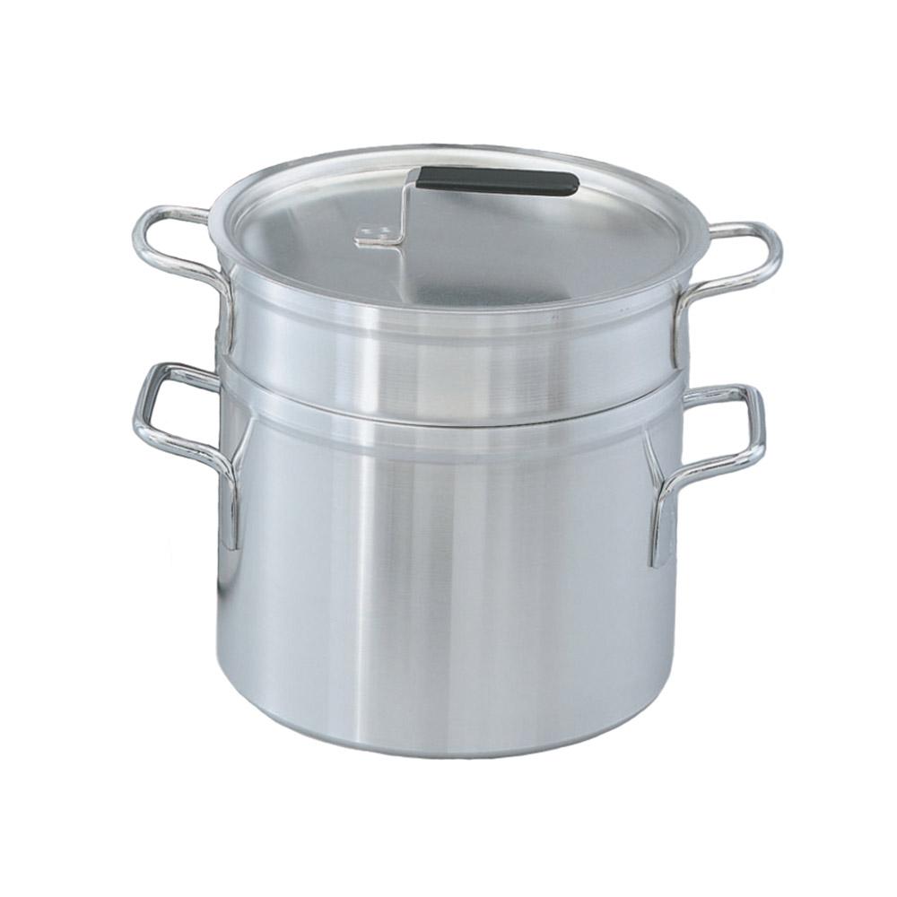 Vollrath 67708 10-qt Aluminum Double-Boiler w/ 8-1/2-qt Inset & Cover