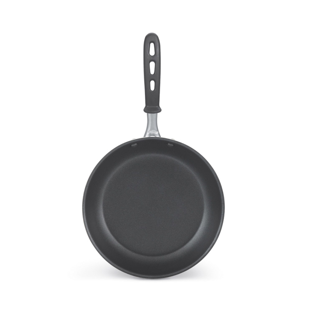 "Vollrath 67934 14"" Non-Stick Aluminum Frying Pan w/ Vented Silicone Handle"