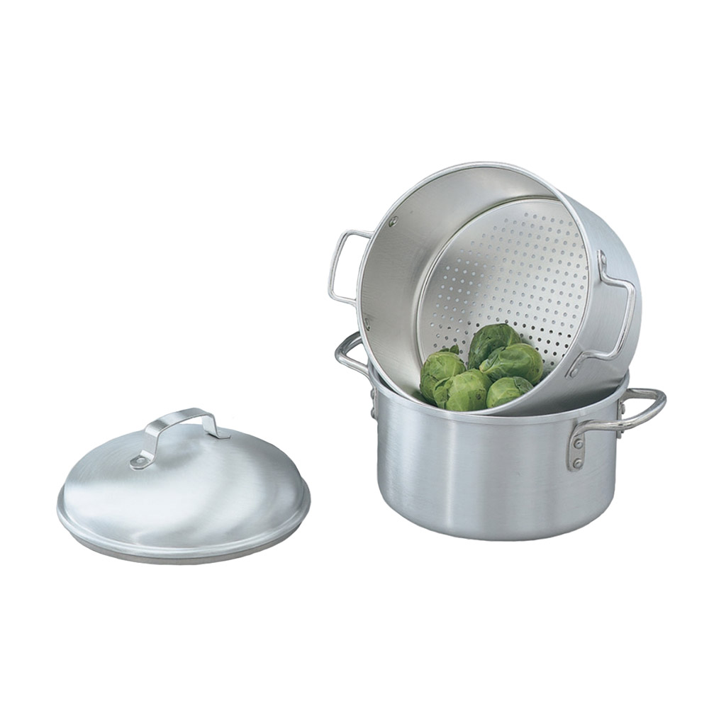 "Vollrath 68122 3-qt Aluminum Steamer Basket, 8.19""H"