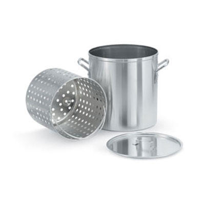 """Vollrath 68269 32-qt Aluminum Steamer Basket, 11.25"""" dia., 10.875""""H"""