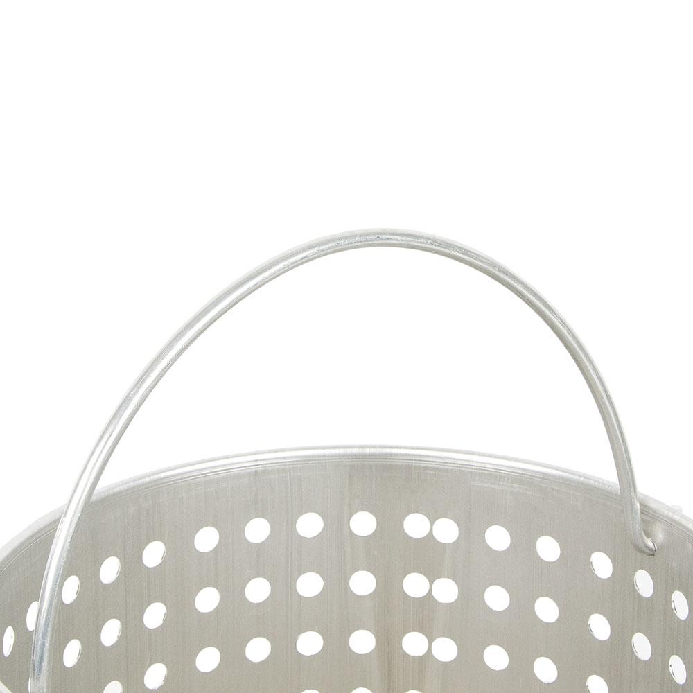 """Vollrath 68291 40-qt Aluminum Steamer Basket, 12.5"""" dia., 11.75""""H"""