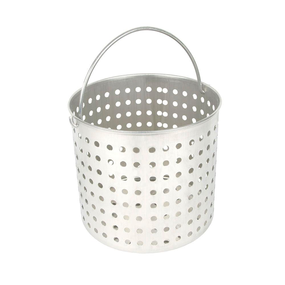 """Vollrath 68293 80-qt Aluminum Steamer Basket, 15.5"""" dia., 16.75""""H"""