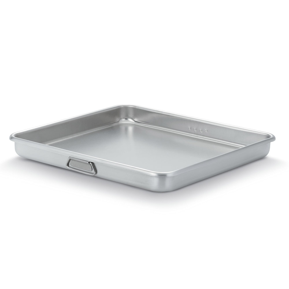 "Vollrath 68363 16-qt Roasting Pan Top - 19-13/16x21-13/16x2-3/8"" Aluminum"