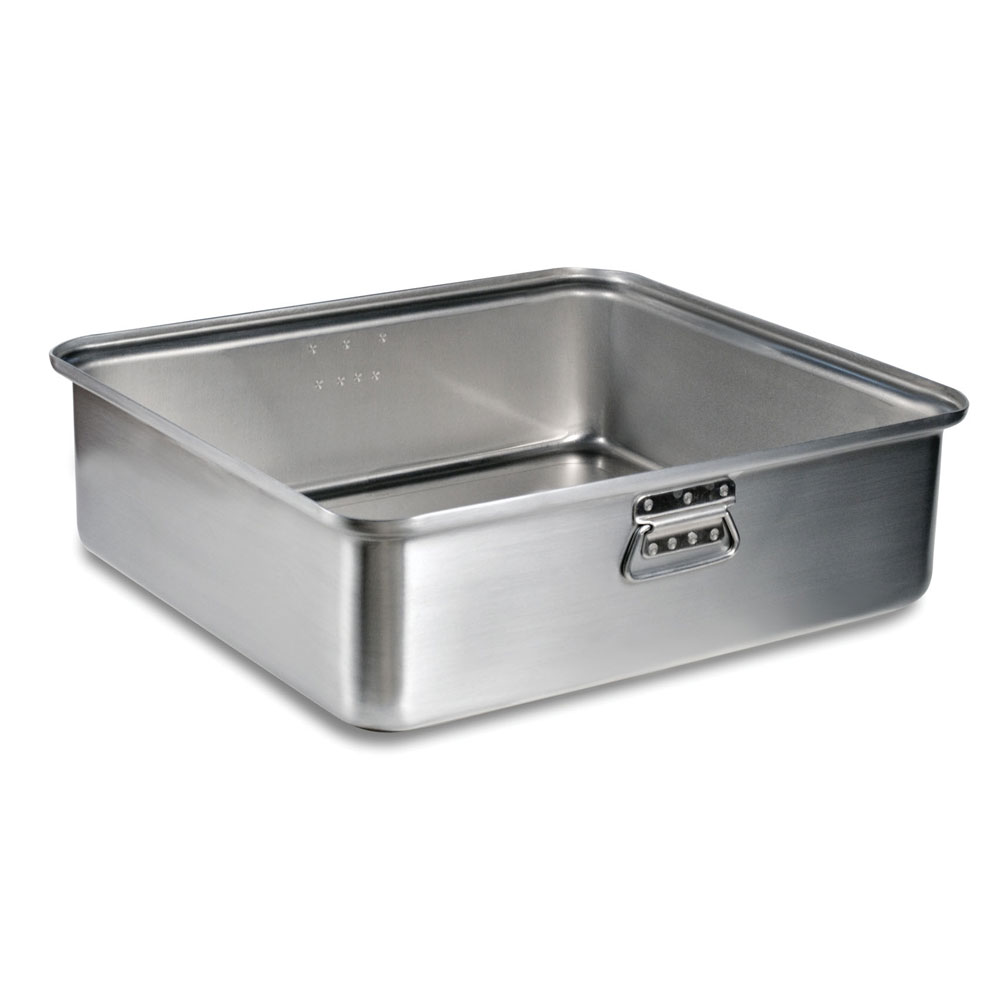 "Vollrath 68365 42-1/2-qt Roasting Pan Bottom - 22-1/8x20-1/8x6-9/16"" Aluminum"