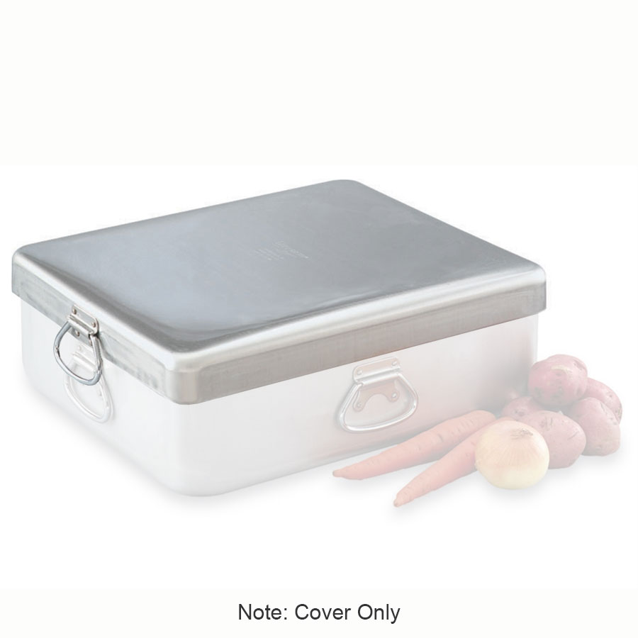 "Vollrath 68392 42-qt Roasting Pan Cover - 21-5/8x18-1/8x2-3/8"" Aluminum"