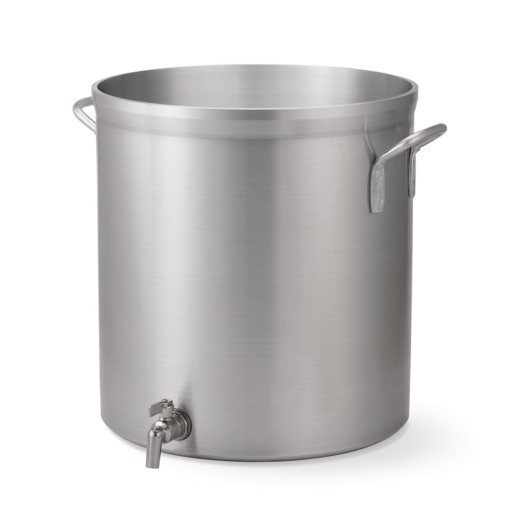 Vollrath 68631 32-qt Aluminum Stock Pot w/ Faucet