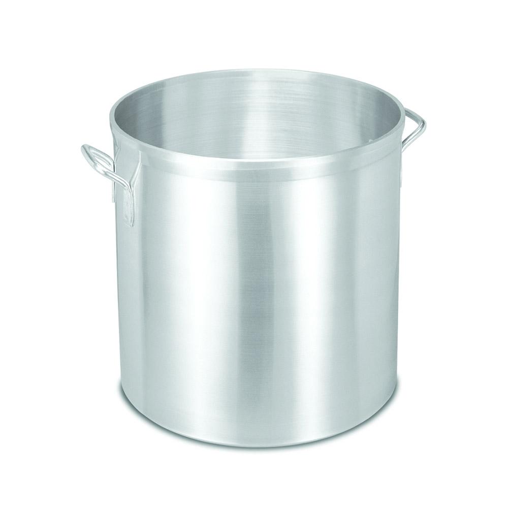 Vollrath 68690 100-qt Stock Pot - Heavy-Duty, Natural-Finish Aluminum