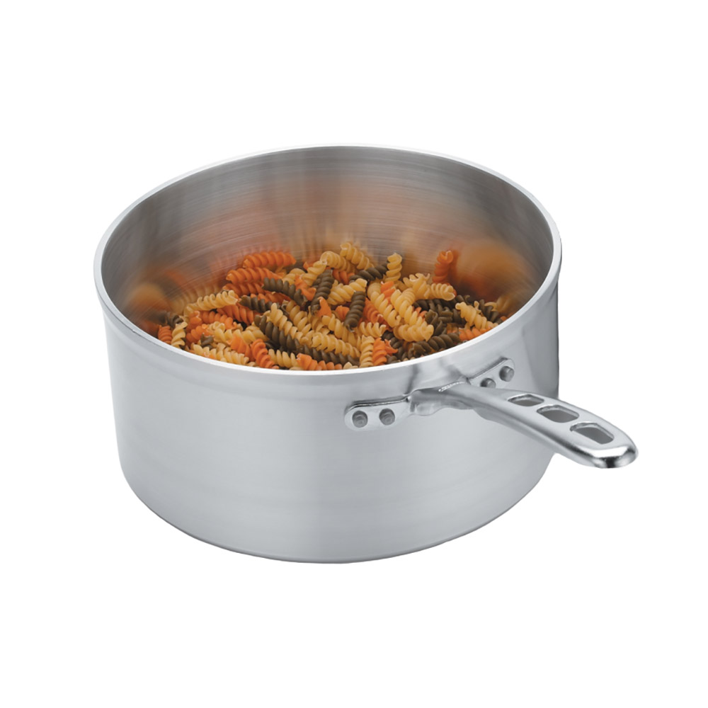 Vollrath 69408 8-qt Aluminum Saucepan w/ Vented Metal Handle